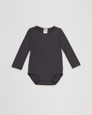 Bonds Baby Organic Long Sleeve Bodysuit 2 Pack   Babies - Bodysuits (Pack 04)
