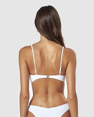 Charlie Holiday Calile Bra - Bikini Tops (Beach Stripe)