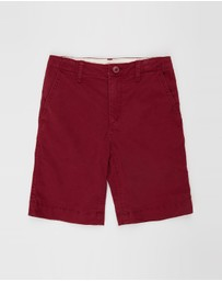 GapKids - Regular Fit Chino Shorts - Kids-Teen