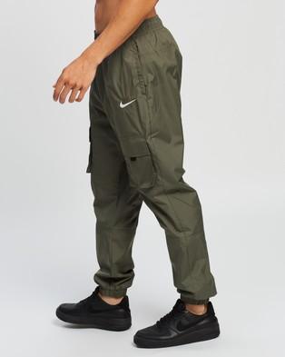 Nike Woven Track Pants - Track Pants (Twilight Marsh & Reflective Silver)