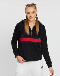Russell Athletic - Quarter Zip Pop-Over