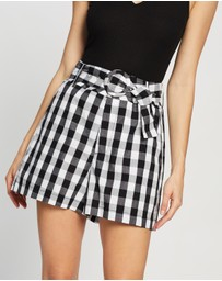 Atmos&Here - Bianca Belted Shorts
