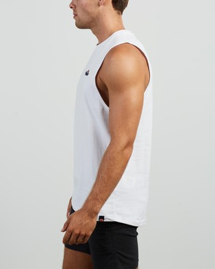 Ellesse - Pyrenees Singlet T-Shirts & Singlets (White)