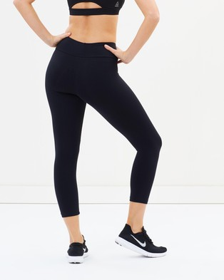 Running Bare High Rise 7 8 Tights - 7/8 Tights (Black)