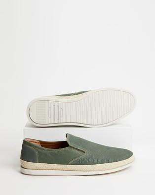Rodd & Gunn Seacliffe Avenue Espadrille ?? Olive - Dress Shoes (Olive)