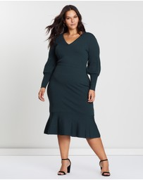 Cooper St - CS CURVY Alexandra Fitted Knit Dress