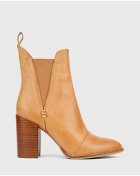 Wittner - Honesty Block Heel Gusset Ankle Boots