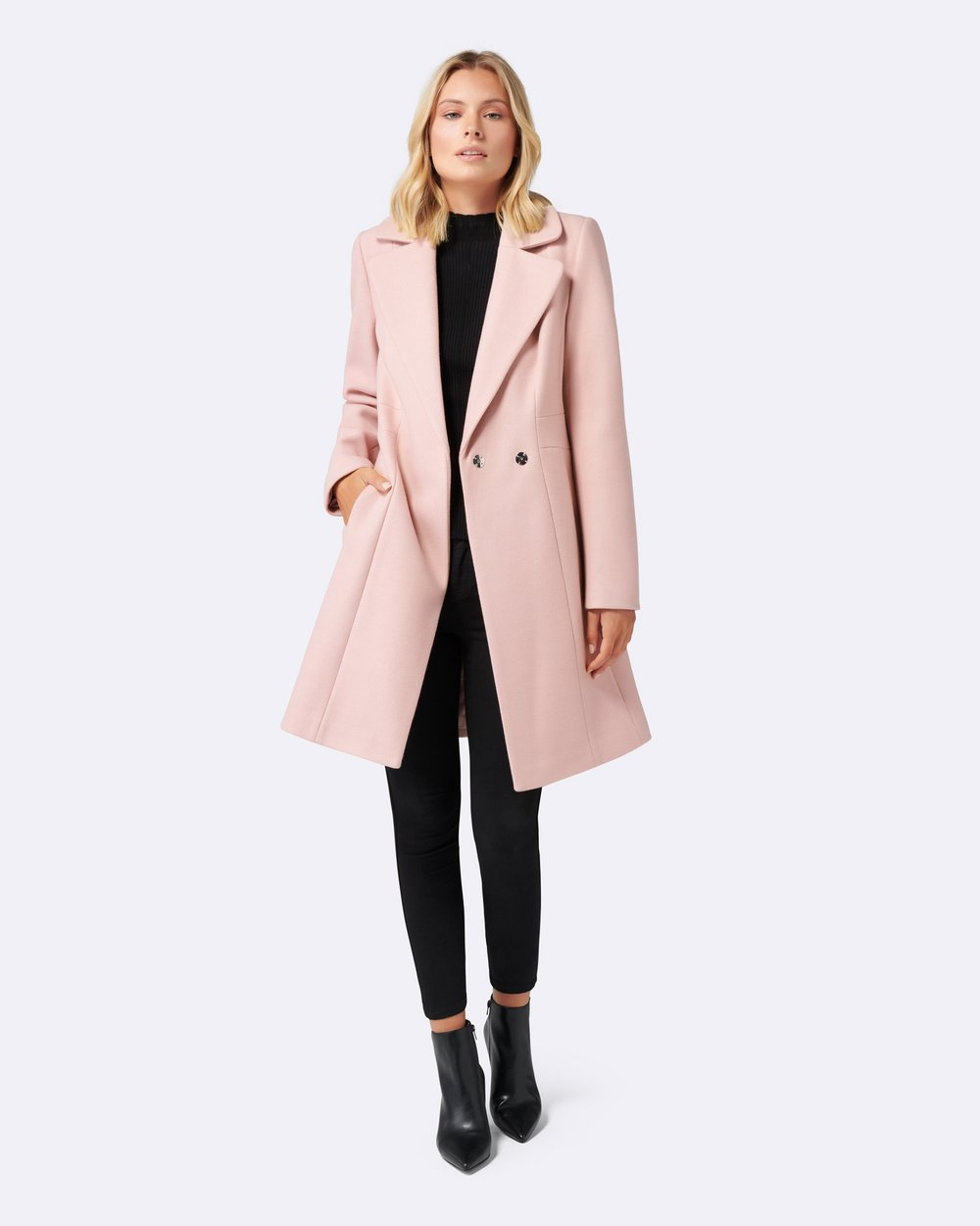 b7311110e64 Ariel Fitted Coat by Forever New Online