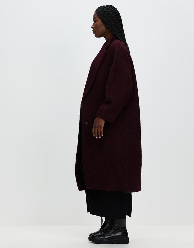 Women Oversized Wool Coat
