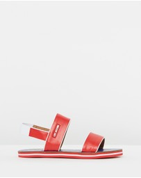 LOVE MOSCHINO - Hearts Sandals
