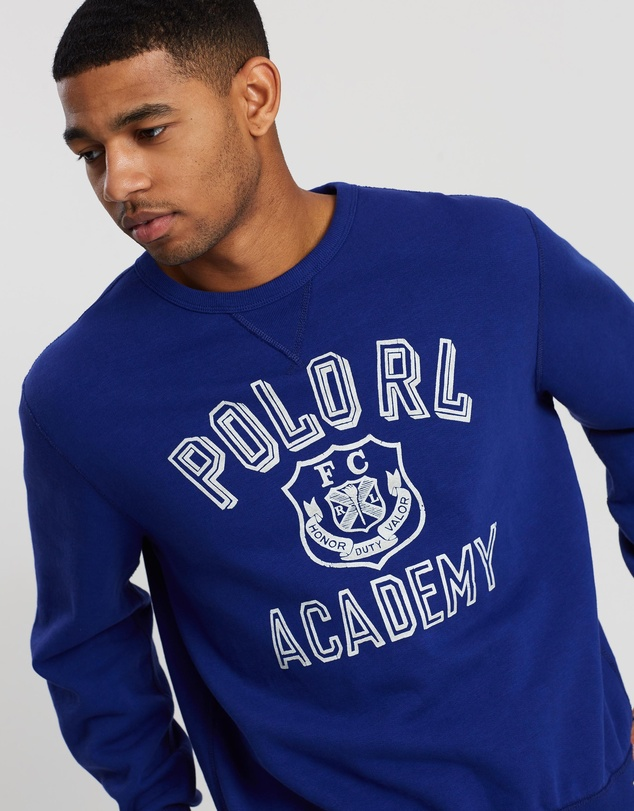 Polo Ralph Lauren - Long Sleeve Vintage Fleece Knit Sweatshirt
