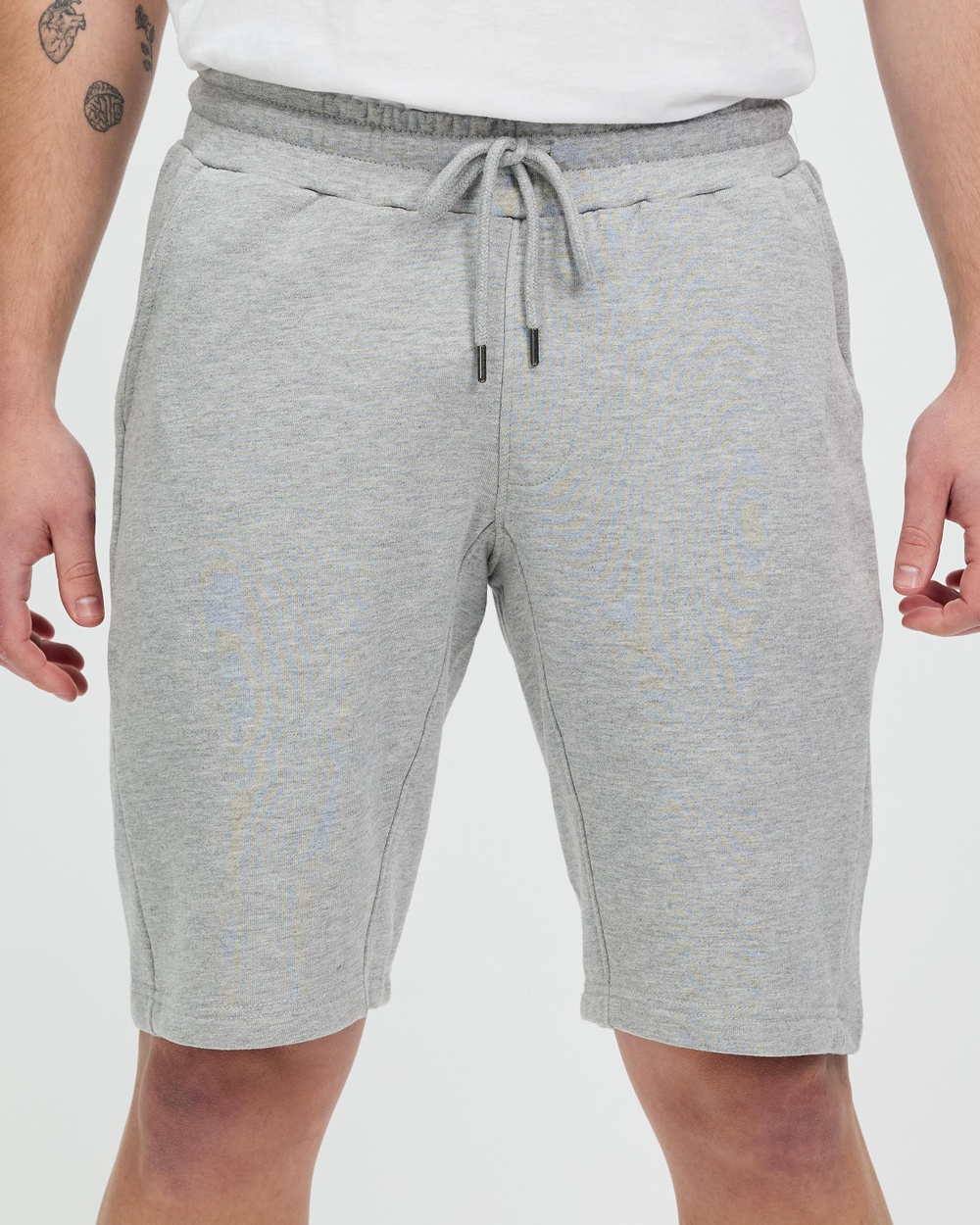 4blabel Lounge Shorts Grey Marle
