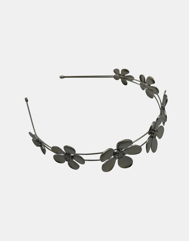 Women April Daisy Metal Headband