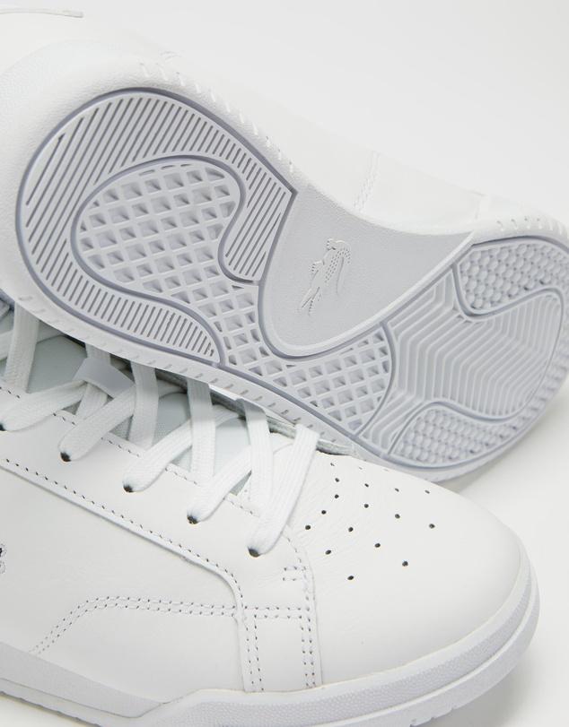 Women Twin Serve Leather Cupsole Sneakers