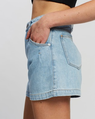 Abrand A Miami Shorts Denim Brandy