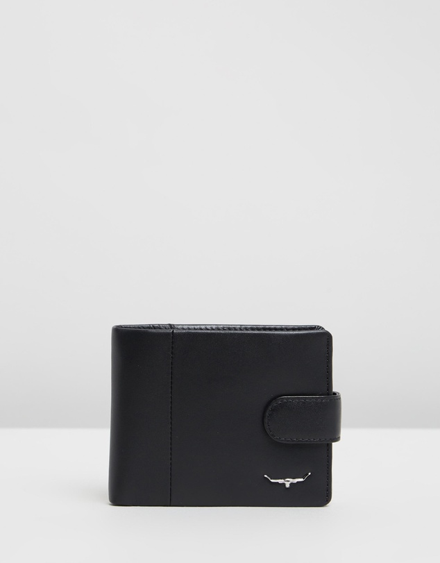 Men Tab Wallet with Coin Pocket