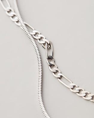 Luv Aj Cecilia Chain Necklace - Jewellery (Silver)