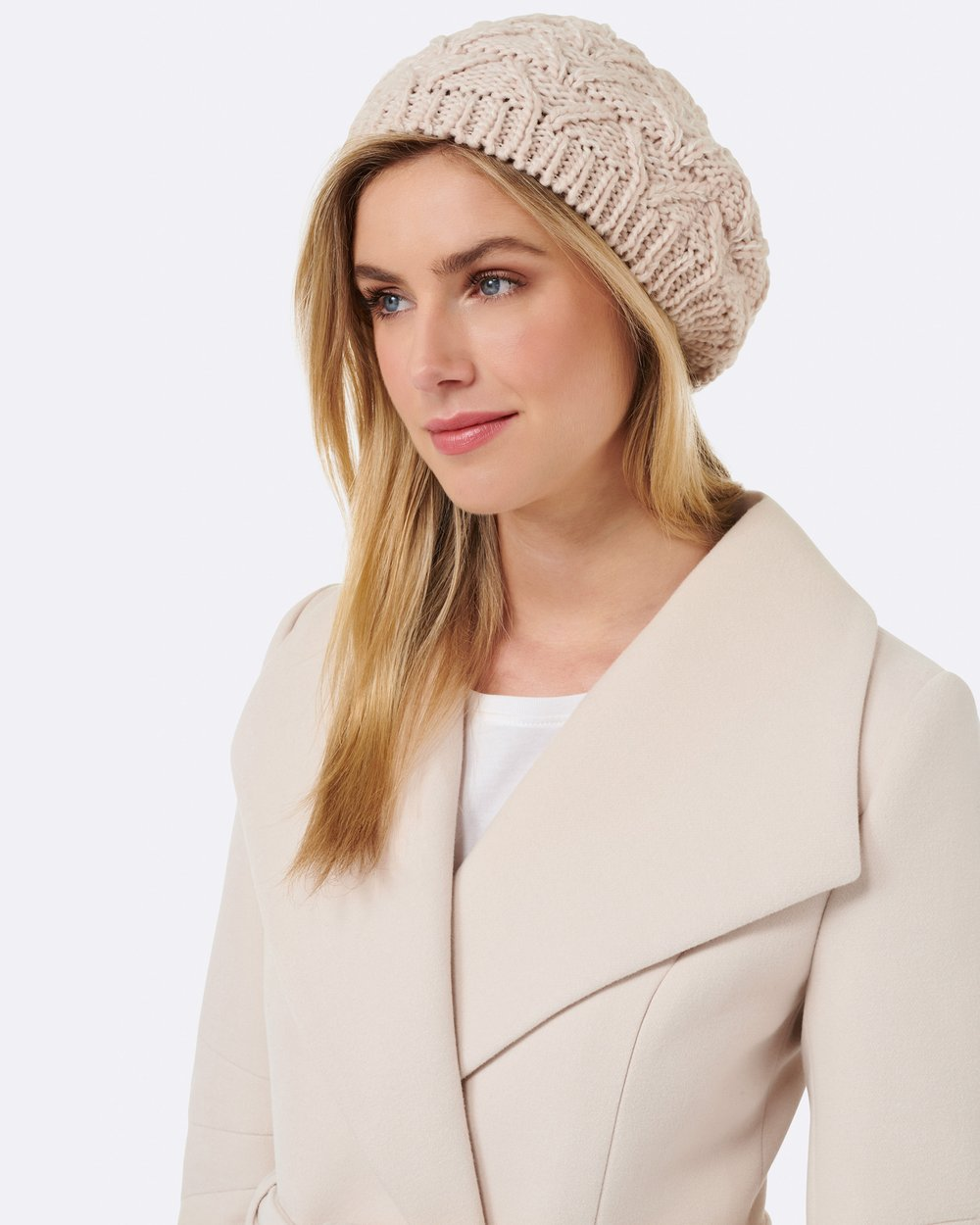 9885175de1c Bethany Knitted Beret by Forever New Online