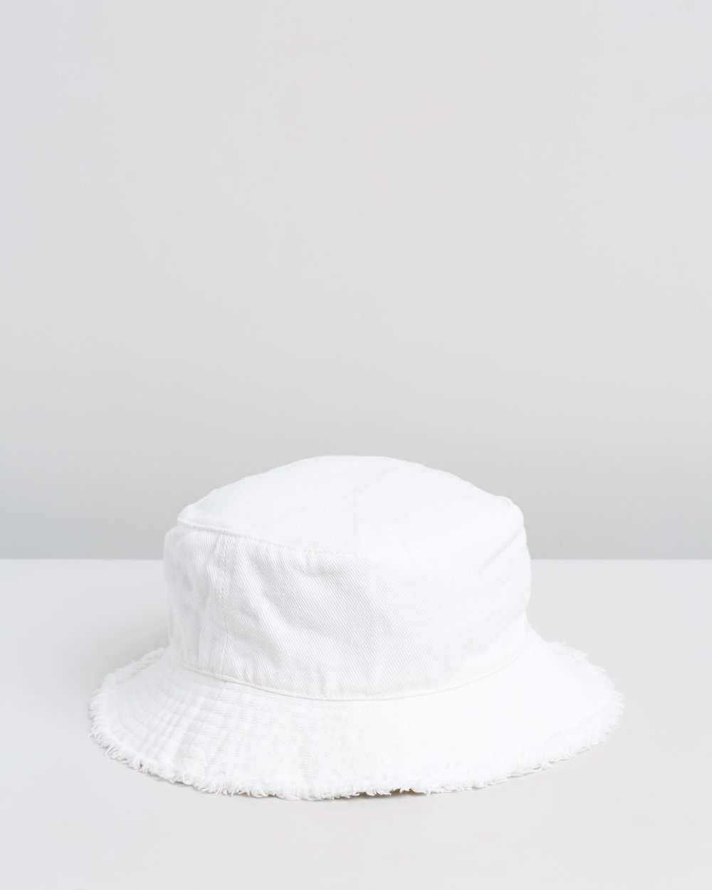 00d15b08e84010 Frayed Twill Bucket Hat by TOPSHOP Online | THE ICONIC | Australia