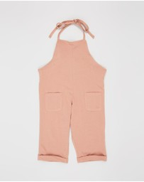 Feather Drum - Slouchie Overalls - Babies