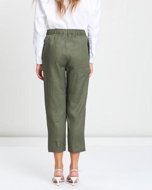 White By FTL Abigail Pants - Pants (Khaki)