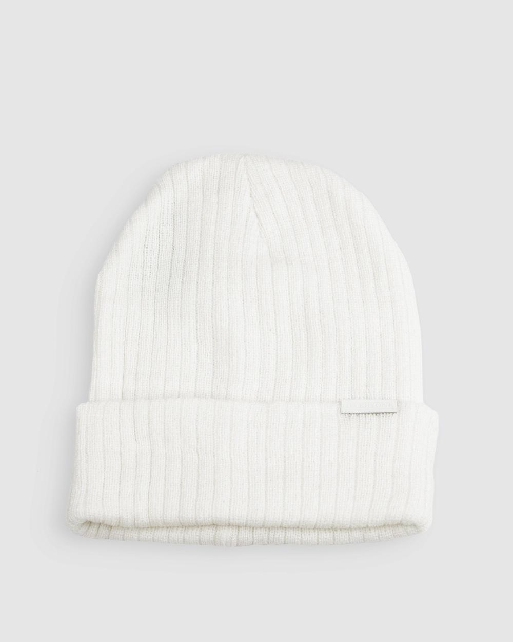 ONEBYONE Bobby Beanie Headwear White