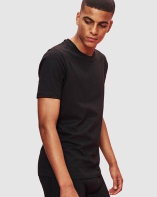 Organic Basics Silvertech Everyday Tee - T-Shirts & Singlets (Black)