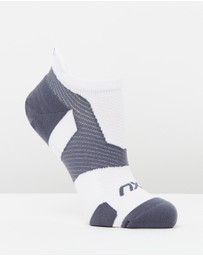 2XU - Vectr LightCushion NoShow Socks
