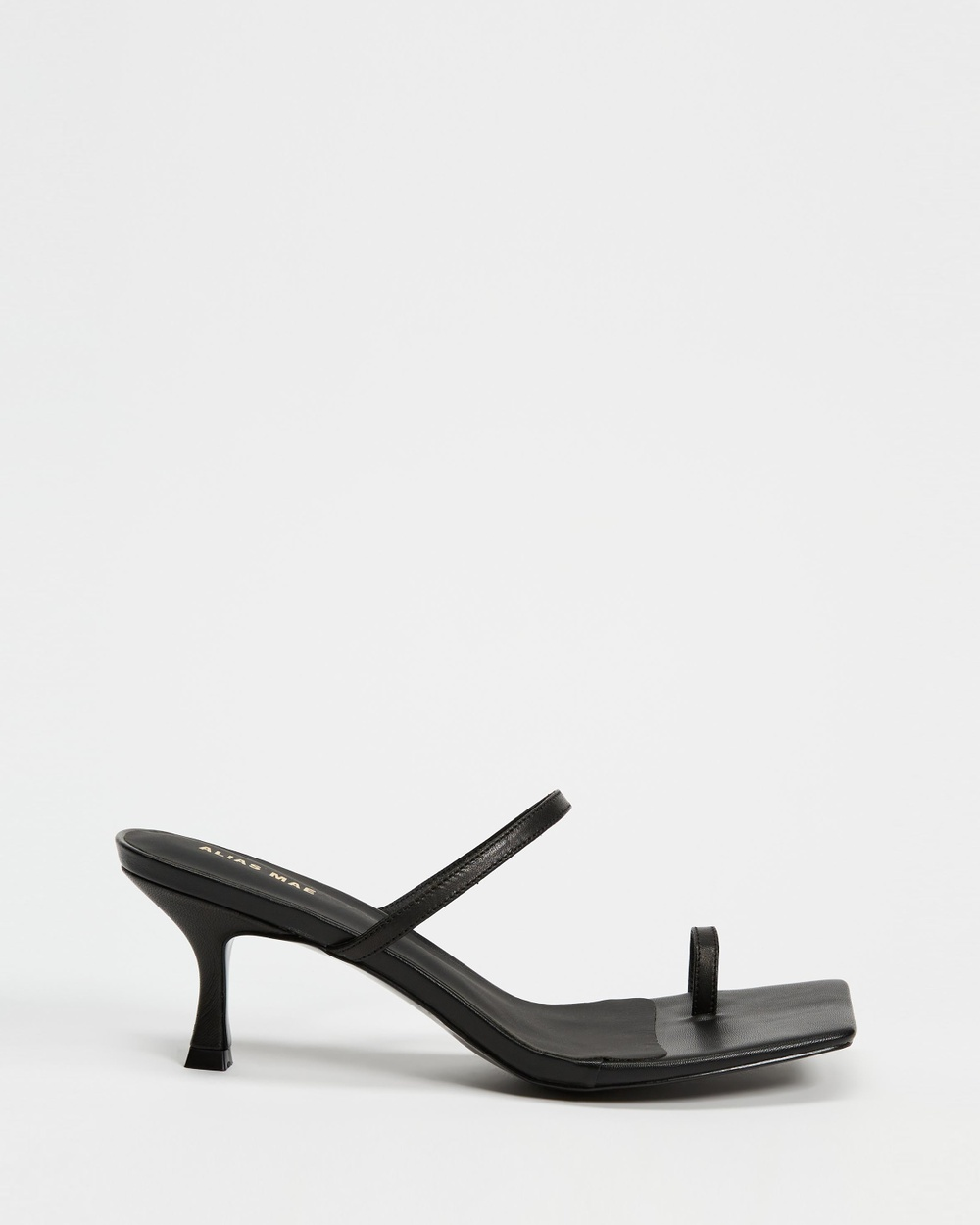 Alias Mae Baker Mid-low heels Black Leather