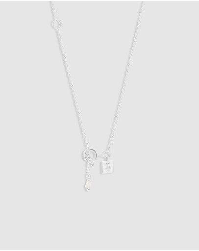 By Charlotte Goddess Of Earth Necklace Silver