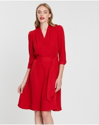 Forcast - Vina Tie Waist Dress
