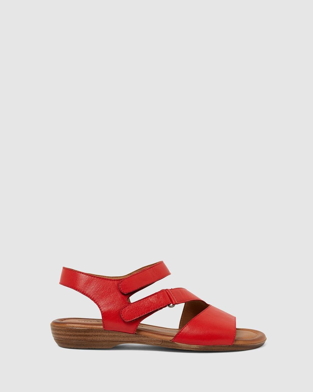 Easy Steps Kenya Sandals RED