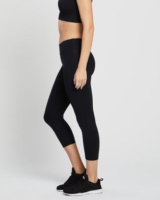 Brasilfit - Basic Xtreme 7 8 Leggings 7/8 Tights (Black) 7-8