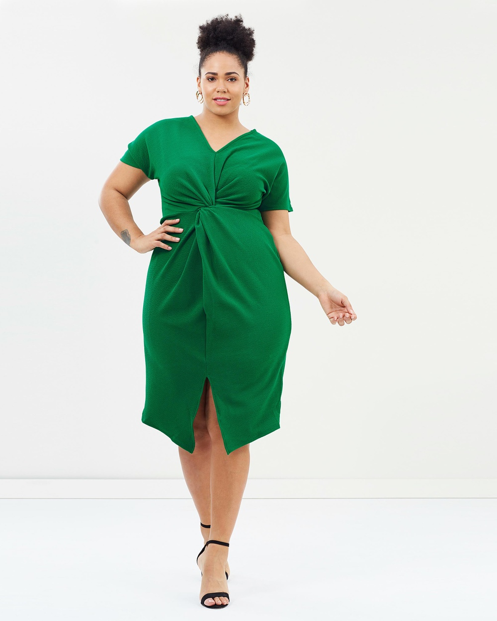 DP Curve Knot Dress Dresses Emerald Knot Dress