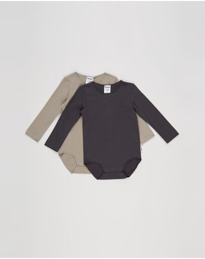 Bonds Baby - Organic Long Sleeve Bodysuit 2-Pack - Babies