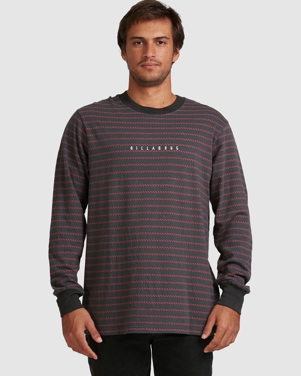 Billabong - Cish Cash Stripe Long Sleeve - T-Shirts & Singlets (ROSE DUST) Cish Cash Stripe Long Sleeve