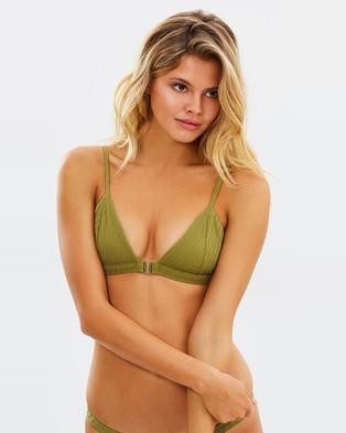 Fella Swim – Louis the III Bikini Top Moss