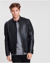 BOSS - Jaysee Leather Jacket