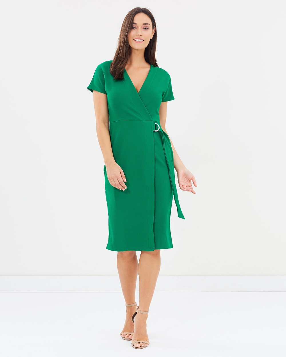 Photo of Dorothy Perkins Dorothy Perkins Wrap Dress Dresses Emerald Wrap Dress - Renowned for feminine style and accessibility, Dorothy Perkins has carved an inimitable reputation as one of the UK's leading fashion brands. From darling day dresses to chic winter coats, you'll elevate any ensemble with a Dorothy Perkins design. Our model is wearing a size UK8 dress. She is 170cm (5'7