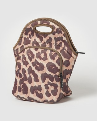Urban Originals Lunch Bag Leopard Lunchboxes
