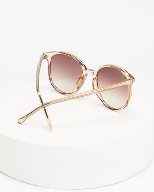 MINKPINK Brightside - Sunglasses (Biscuit)