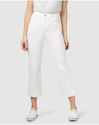 Jeanswest - Mel Patch Pocket Wide Leg