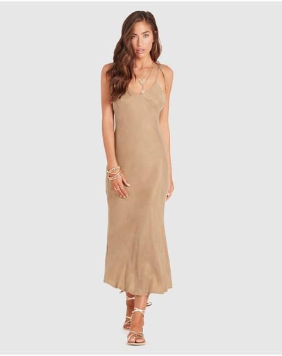 Ministry Of Style Lustre Strap Dress Beige