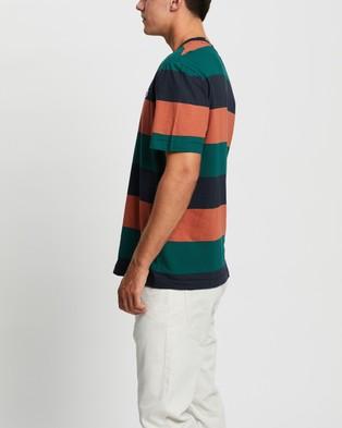 Ben Sherman - Recycled Cotton Colour Block Logo Tee T-Shirts & Singlets