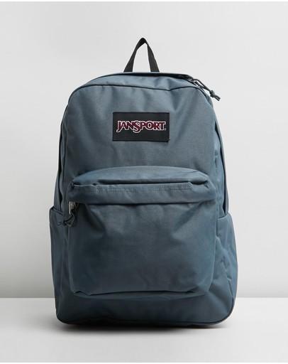 Jansport Superbreak Plus Backpack Dark Slate