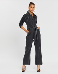 Dazie - It Girl Denim Boilersuit