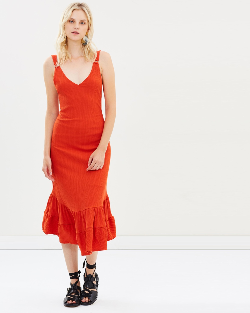 Free People Into You Dress Dresses Red Into You Dress
