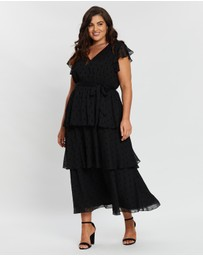 Atmos&Here Curvy - Joanna Tiered Dress