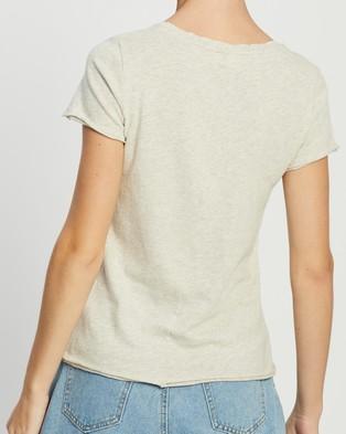 American Vintage Sonoma T Shirt - T-Shirts & Singlets (Polar Melange)