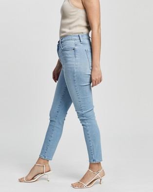 Nobody Denim Petite Cult Skinny Ankle - High-Waisted (Savoured)